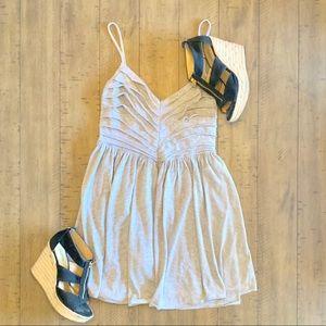 KIMCHI BLUE GRAY FUN&FLIRTY GRAY SMALL DRESS